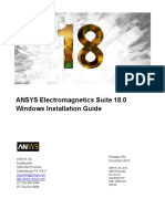 Ansys EM Install Guide Windows