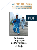 Tai Chi Yang Style 24 Step Booklet