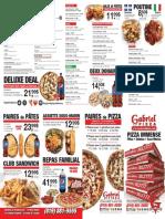 gabrielpizza menu francais