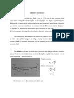 METODOD DE CROSS (ESTRUCTURA 1)
