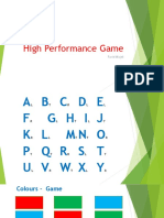 HighPerformance Game.pptx