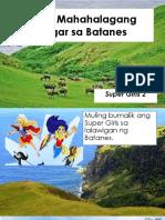 Mga Mahahalagang Lugar Sa Batanes