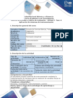Guía de Actividades y Rúbrica de Evaluación - Fase 4 - Aplicación de Sistemas de Instrumentación