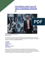 20171018 Charlie Ekberg Atlas Copco Objetivo Epiroc-maximizar Potencial Mineria Digital