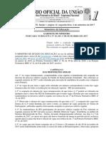Portaria Normativa 16 01092017