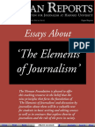 Elements of Journalism