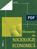 Coanda, L. (2002) Elemente de Sociologie Economica