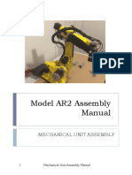 Manual - AR2 Robot Arm Assembly