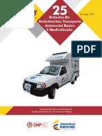 Dotación de Ambulancias
