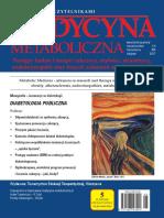 Medycyna Metaboliczna - 2017, tom XXI, nr 3-4