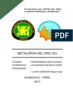 Metalúrgia Del Zinc