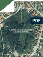 Idejno rešenje uređenja gradskog brda u Ubu