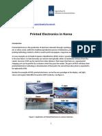 Zuid-Korea - Printed Electronics