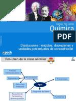 Clase 14 Disoluciones I Mezclas Disoluciones y Unidades Porcentuales de Concentración 2015 (1)