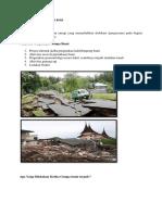 Mewaspadai Bencana Gempa Bumi