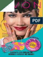 Folheto Avon Cosméticos - 02/2018