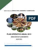 Plan Operativo Anual POA 2013 (MAGA)