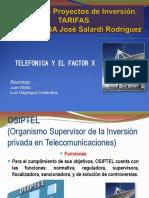 Telefonica y El Factor X