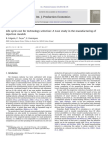 Life Cycle Cost for Technology Selection a Case Study in the Manufacturing OfMODIFIED