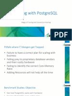 The Magic of Tuning in PostgreSQL