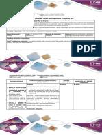 Guía de Actividades y Rubrica de Evaluación -Fase 4. Nueva Experiencia