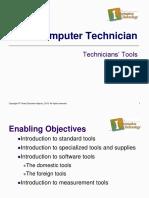1.01 Technician Tools