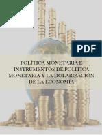 Política Monetaria Leon Villaruel