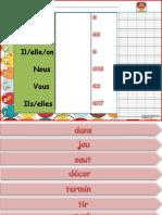 Conjuguette Au Pr Sent