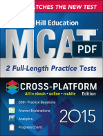 (McGraw-Hill Education MCAT 2) Hademenos, George-Full-length Practice Tests 2015, Cross-Platform Edition-McGraw-Hill Education (2015)