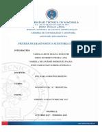 Prueba de Diagnostico Auditoria Informatica