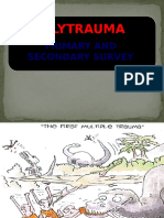 Primary and Secondary Survey in Trauma