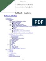 A Work on Kabbalah