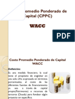 DIAPOS Costo Promedio Ponderado de Capital CPPC