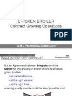 Broiler Contract Growing Executive Summary