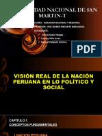 Vision Real de La Nacion Peruana en El Aspecto Politico y Social
