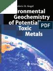 Environmental Geochemistry of Potentially Toxic Metals_Siegel_2002