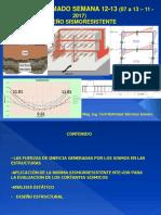12, 13) CONCRETO ARMADO SEMANA  12, 13 (6 a 13 nov. 2017) Diseño Sismorresistente revnasa (1).pdf