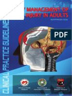 CPG Early Management of Head Injury in Adults