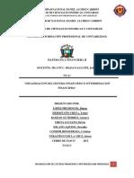 ORGANIZACIÓN DEL SISTEMA FINANCIERO