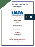 Psicología Clínica 1 Tarea 1
