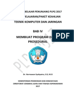 Bab 4. Membuat Program Dasar Prosedural