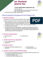 Presentasi Sistem Akuntansi Ch 14 Sistem Akuntansi Pengeluaran Kas