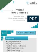 Presentación_M2T2_Presas II Geotecnia y Materiales. Laminación de Avenidas y Proceso de Cálculo.