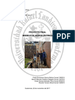 Proyecto Final - Modelo de Hidroeléctrica