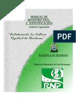 Manual de Registro Civil Identificacion