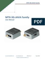 Mtx 3g Java Manual