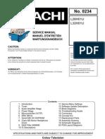 Hitachi Flat Tv L26(32)H01U August 2007 Service Manual