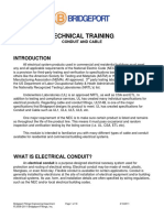 BPF Conduit and Cable Technical Training - REV 3-10-11