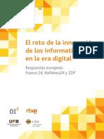 El Reto de La Innovacion de Los Informativos en La Era Digital - GABINETE Com y Educacion 2015