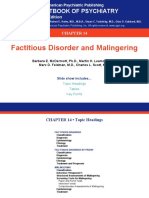 14 Factitious Disorders and Malingering
